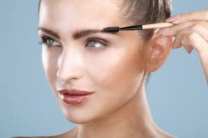 Use eyebrow brush tool
